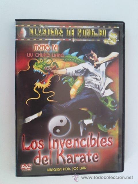 DVD NUEVO - BRUCE LEE Y LOS INVENCIBLES DEL KARATE - KUNG FU, ARTES MARCIALES, KARATE - VER++ (Cine - Películas - DVD)