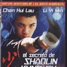 Cine: DVD NUEVO - EL SECRETO DE SHAOLIN KUNG FU - 1979 - KUNG FU, ARTES MARCIALES - VER+++++. Lote 32207845