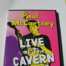 Cine: BEATLES PAUL MCCARTNEY LIVE AT THE CAVERN CLUB DVD. Lote 32609175
