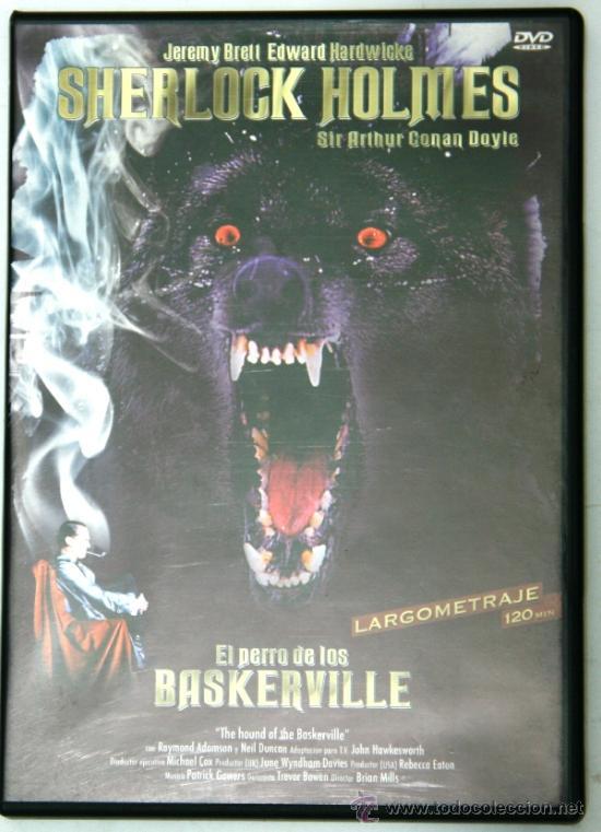 Dvd el perro de baskerville - Barcelona - Dvd titulado dvd el perro de baskerville buen estado. Combino gastos de envío. Envío exclusivo previo ingreso en cuenta o paypal. - Barcelona