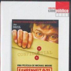 Cine: FAHRENHEIT 9/11 - MICHAEL MOORE. Lote 32263836