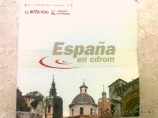 ESPAÑA EN CDROM. 12 CD ROM CON TODAS LAS COMUNIDADES AUTONOMAS DOCUMENTAL (Cine - Películas - DVD)