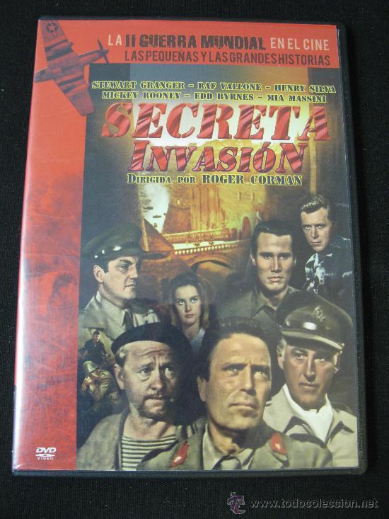 DVD SECRETA INVASION - LA II GUERRA MUNDIAL EN EL CINE (Cine - Películas - DVD)
