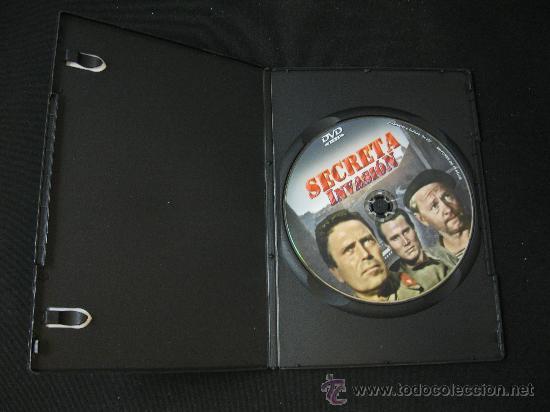 Cine: DVD SECRETA INVASION - LA II GUERRA MUNDIAL EN EL CINE - Foto 3 - 126934467