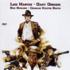 Cine: TRES FORAJIDOS Y UN PISTOLERO 1974 (DVD PRECINTADO) LEE MARVIN - GARY GRIMES - RON HOWARD. Lote 33121386