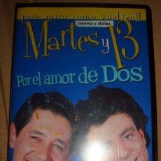 Cine: PERO MIRA COMO VUELVEN-MARTES Y 13 JOSEMA Y MILLÁN POR EL AMOR DE DOS DVD HUMOR. Lote 32480966