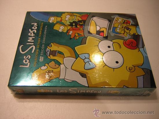LOS SIMPSON 8 TEMPORADA COMPLETA (PRECINTADO) (Cine - Películas - DVD)
