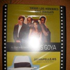 Cine: LOTE 4 DVDS - 8 PELICULAS - LOS GOYA . PRECINTADAS - JARRAPELLEJOS , REY PASMADO , INTRUSO , .... Lote 32647636