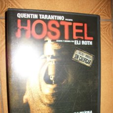 Cine: DVD HOSTEL - ELI ROTH - QUENTIN TARANTINO - TERROR. Lote 32647728