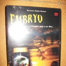 Cine: DVD EMBRYO - Y EL HOMBRE QUE JUGO A SER DIOS… - ROCK HUDSON - BARBARA CARRERA - TERROR -RALPH NELSON. Lote 32647925
