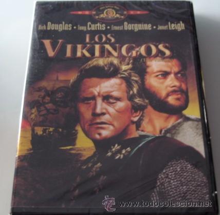 LOS VIKINGOS - DVD - KIRK DOUGLAS / TONY CURTIS / ERNEST BORGNINE - NUEVO PRECINTADO (Cine - Películas - DVD)
