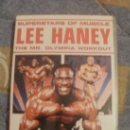 Cine: SUPERSTARS OF MUSCLE LEE HANEY THE MR OLYMPIA WORK OUT EN INGLES TOTALMENTE. Lote 32789223