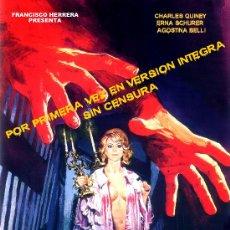 Cine: IVANNA (EL CASTILLO DE LA PUERTE DE FUEGO)1970(DVD PRECINTADO)TERROR ESPAÑOL DE CULTO CHARLES QUINEY. Lote 218791066