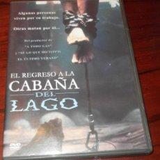 Cine: DVD --- REGRESO A LA CABAÑA DEL LAGO --- CON JUDD NELSON. DE PO-CHIH LEONG. Lote 32880145