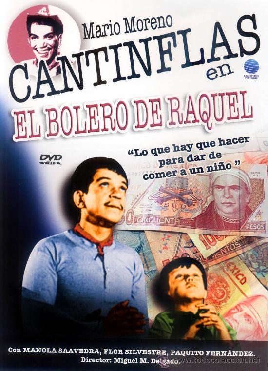 EL BOLERO DE RAQUEL 1957 (DVD PRECINTADO) MARIO MORENO CANTINFLAS (Cine - Películas
