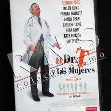 Cine: DR T Y LAS MUJERES - DVD PELÍCULA COMEDIA ROMÁNTICA - RICHARD GERE - ROBERT ALTMAN - CINE MEDICINA. Lote 33099684