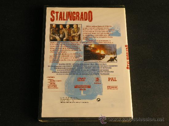 Cine: DVD STALINGRADO - DOMINIQUE HORWITZ , THOMAS KRETSCHMANN ... nuevo PRECINTADO - Foto 2 - 33126227