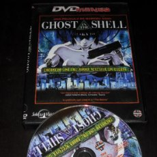 Cine: GHOST IN THE SHELL. MAMORU OSHI. MANGA. ANIME. DVD. PELICULA. CASTELLANO.. Lote 33147606
