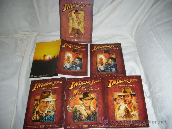 INDIANA JONES TRILOGIA EN DVD THX REMASTERIZADA 4 DVD ORIGINALES DESCATALOGADA (Cine - Películas - DVD)