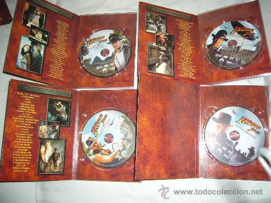 Cine: INDIANA JONES TRILOGIA EN DVD THX REMASTERIZADA 4 DVD ORIGINALES descatalogada - Foto 2 - 33208993