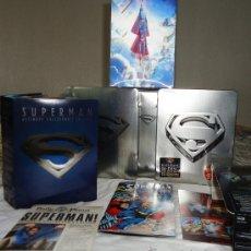 Cine: SUPERMAN EDICION COLECCIONISTA, CAJA METALICA DVD.. Lote 33220018