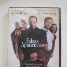 Cine: DVD. FALSAS APARIENCIAS. BRUCE WILLIS, MATTHEW PERRY. PRECINTADA. Lote 33392655