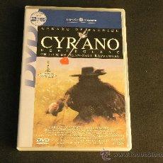 Cine: DVD CYRANO DE BERGERAC - GERARD DEPARDIEU , ANNE BROCHET ... DESCATALOGADO. Lote 33265216