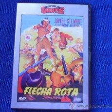 Cine: FLECHA ROTA. DVD DE LA PELICULA DE DELMER DAVES, CON JAMES STEWART, JEFF CHANDLER Y DEBRA PAGET. COL. Lote 33266216
