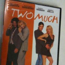 Cine: DVD TWO MUCH NUEVO PRECINTADO. Lote 34230128