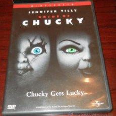 Cine: DVD --- LA NOVIA DE CHUCKY --- CON JENNIFER TILLY Y EL MUÑECO DIABÓLICO. Lote 33710055