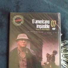 Cine: EL AMERICANO IMPASIBLE - DVD - PHILLIP NOYCE - EL MUNDO.. Lote 33719188
