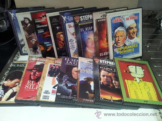 LOTE DE 15 DVDS - LOTAZO MUY VARATO (Cine - Películas - DVD)