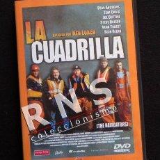 Cine: LA CUADRILLA DVD PELÍCULA DRAMA SOCIAL - KEN LOACH - PARO EXPLOTACIÓN LABORAL - SOCIEDAD CAPITALISTA. Lote 33948444