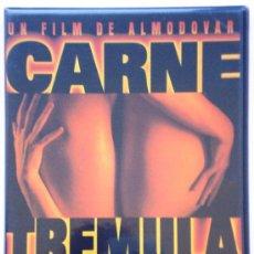 Cine: CARNE TRÉMULA – PEDRO ALMODÓVAR - DVD - NUEVO . Lote 33970448