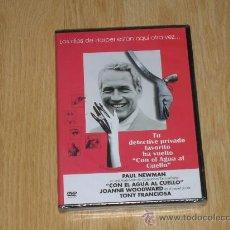 Cine: CON EL AGUA AL CUELLO DVD PAUL NEWMAN NUEVA PRECINTADA. Lote 195065503