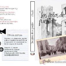 Cine: LAS FOTOS DE MI PUEBLO ONDA CASTELLON EN DVD. Lote 34030405