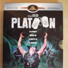 Cinema: DVD - PLATOON - EDICIÓN ESPECIAL. Lote 34179339
