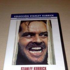 Cine: DVD EL RESPLANDOR. STANLEY KUBRICK. REMASTERIZADA . Lote 34214558