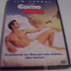 Cine: COMO DIOS - JIM CARREY - PELICULA DVD ORIGINAL. Lote 34296374