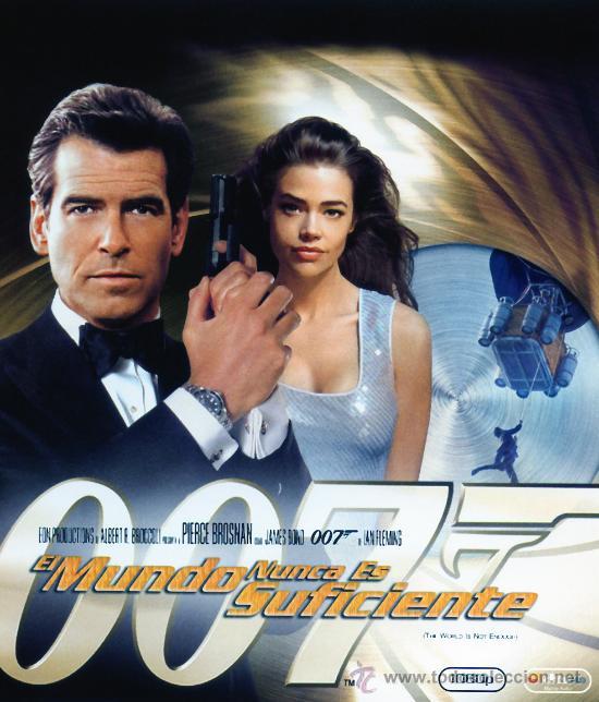 EL MUNDO NUNCA ES SUFICIENTE ( BLU - RAY PRECINTADO HD 1080) JAMES BOND 007 (Cine - Películas - DVD)