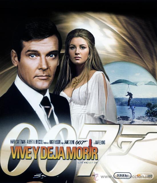 VIVE Y DEJA MORIR (BLU - RAY PRECINTADO HD 1080) JAMES BOND 007 ROGER MOORE (Cine - Películas - DVD)