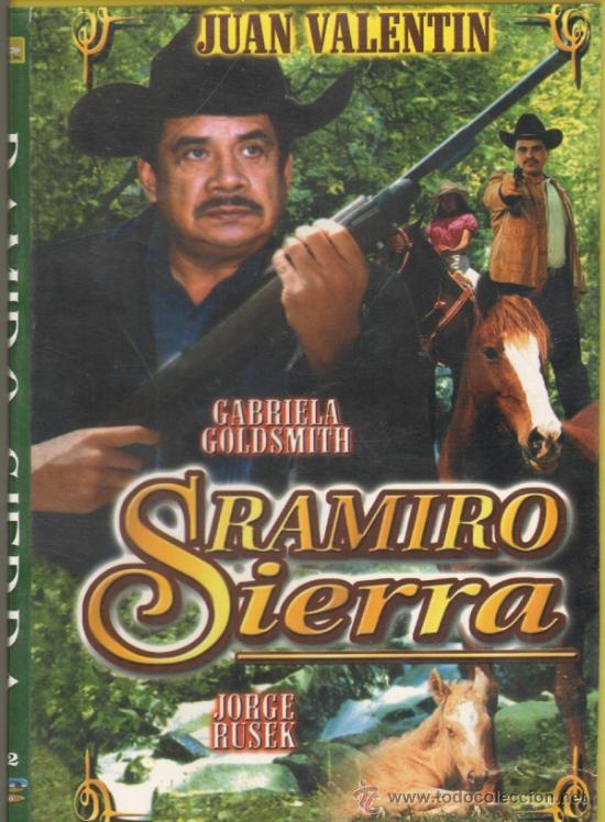 CINE GOYO   DVD   RAMIRO SIERRA   JUAN VALENTIN   GABRIELA GOLDSMITH    RARISIMA *CC99