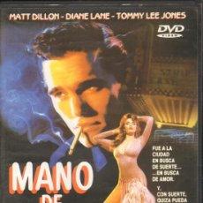 Cine: CINE GOYO - DVD - MANO DE ORO - MATT DILLON - TOMMY LEE JONES - DIANE LANE *CC99. Lote 34390970