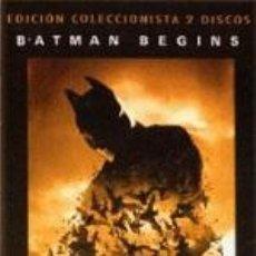 Cine: BATMAN BEGINS- EDICION COLECCIONISTA- 2 DISCOS. Lote 34449064