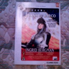 Cine: DVD JUANA DE ARCO (COL. GRANDES ACONTECIMIENTOS DEL SIGLO XX Nº 24 DIARIO EL MUNDO). Lote 34498730
