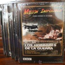 Cine: MISION IMPOSIBLE – GRANDES AVENTURAS DEL SER HUMANO – 5 DVD + LIBRO PRECINTADOS - GUERRA - BBC. Lote 34797534