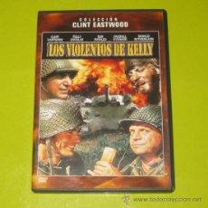 Cine: DVD.- LOS VIOLENTOS DE KELLY - CLINT EASTWOOD - DESCATALOGADO. Lote 55415485