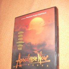Cine: APOCALYPSE NOW REDUX - DVD - FRANCIS FORD COPPOLA MARLON BRANDO MARTIN SHEEN APOCALIPSIS OFERTA 3X2. Lote 34941945