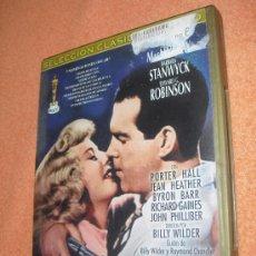 PERDICIÓN DVD - BILLY WILDER CON BARBARA STANWYCK EDWARD G. ROBINSON FRED MACMURRAY - OFERTA 3X2