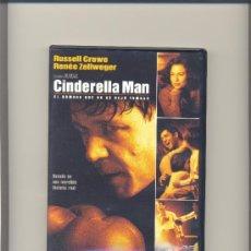 Cine: DVD CINDERELLA MAN. EDICION 1 DISCO. NUEVO.. Lote 35061818